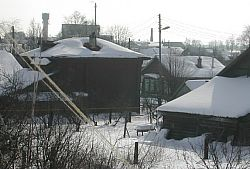 Palekh School in the Snow